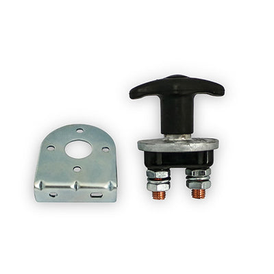 battery isolation switch and mounting bracket