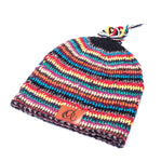 Original Mocros Lange Muts Striped Multi Color