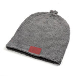 Original Mocros Long Beanie Dark Grey
