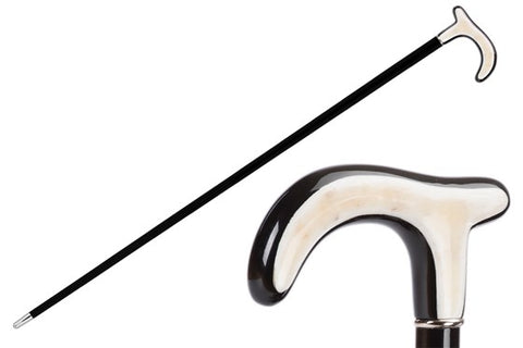 Classic Horn Cane by Pasotti