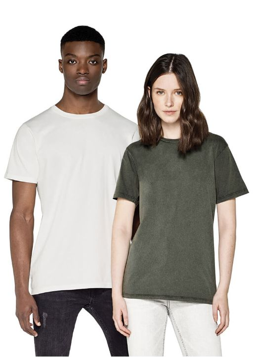 MEN´S/UNISEX ORGANIC T-SHIRT stone washed EP100
