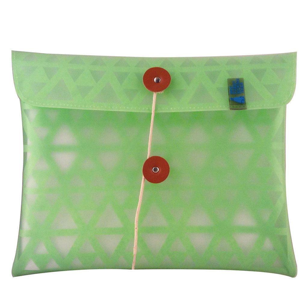 neon green ipad sleeve With a light and waterproof THERMO resin exterior and cushioning laser cut SMRT felt interior, your iPad will be protected in extreme style. The design is inspired from urban architecture and is completely eco-friendly- back