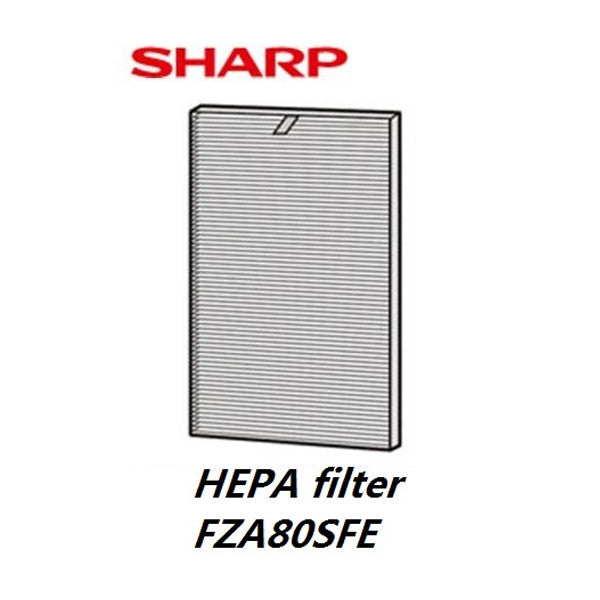 FZA80SFE Air Purifier HEPA Filter + Deodorizing Pre Filter