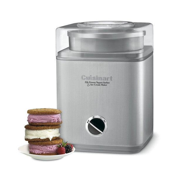 Indulgence 2-Qt Frozen Yogurt-Sorbet & Ice Cream Maker
