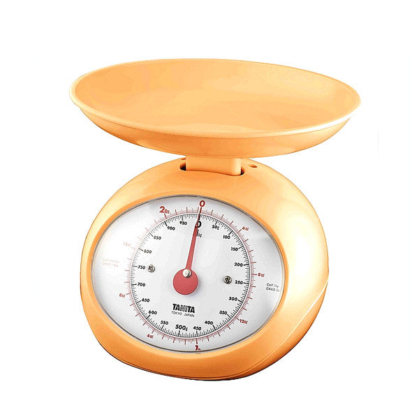 Dial Kitchen Scale with Large Display