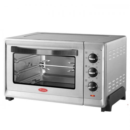 EEO5302S 30L DOUBLE GLASS CONVECTION AND ROTISSERIE OVEN