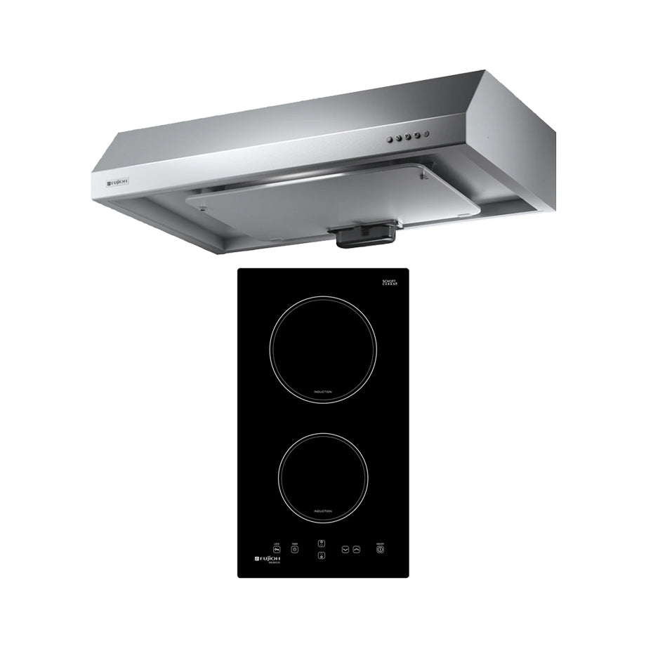 BUNDLE: FH-ID5125 2-ZONE INDUCTION HOB & FR-FS1890 HOOD