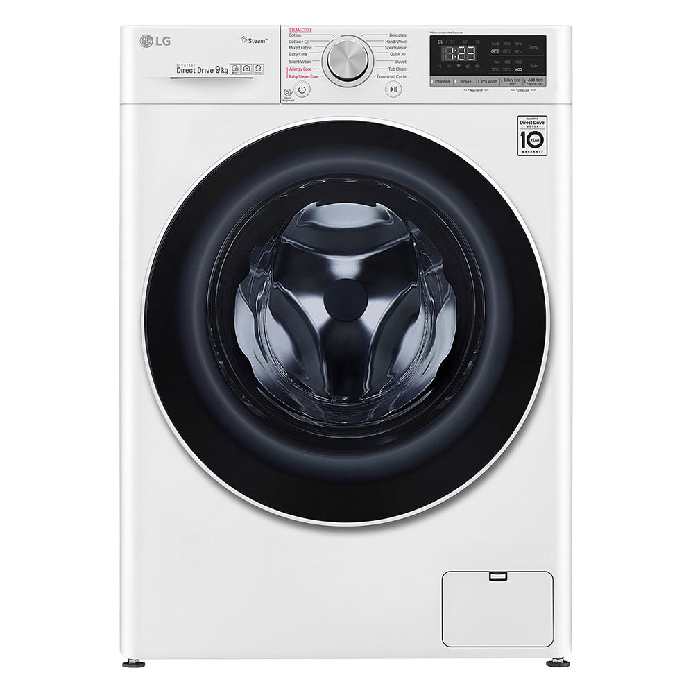 FV1409S4W 9KG FRONT LOAD WASHER (4 TICKS) + FREE DETERGENT BY LG