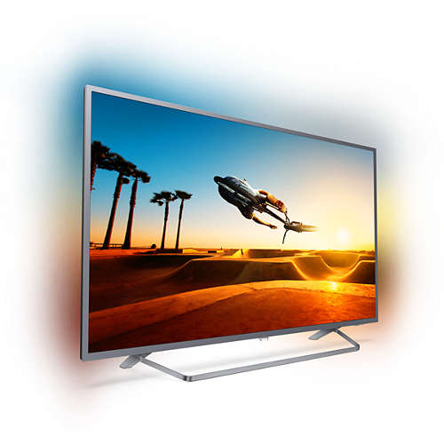 "55PUT7303 55"" UHD 4K SMART ANDROID AMBILIGHT TV"