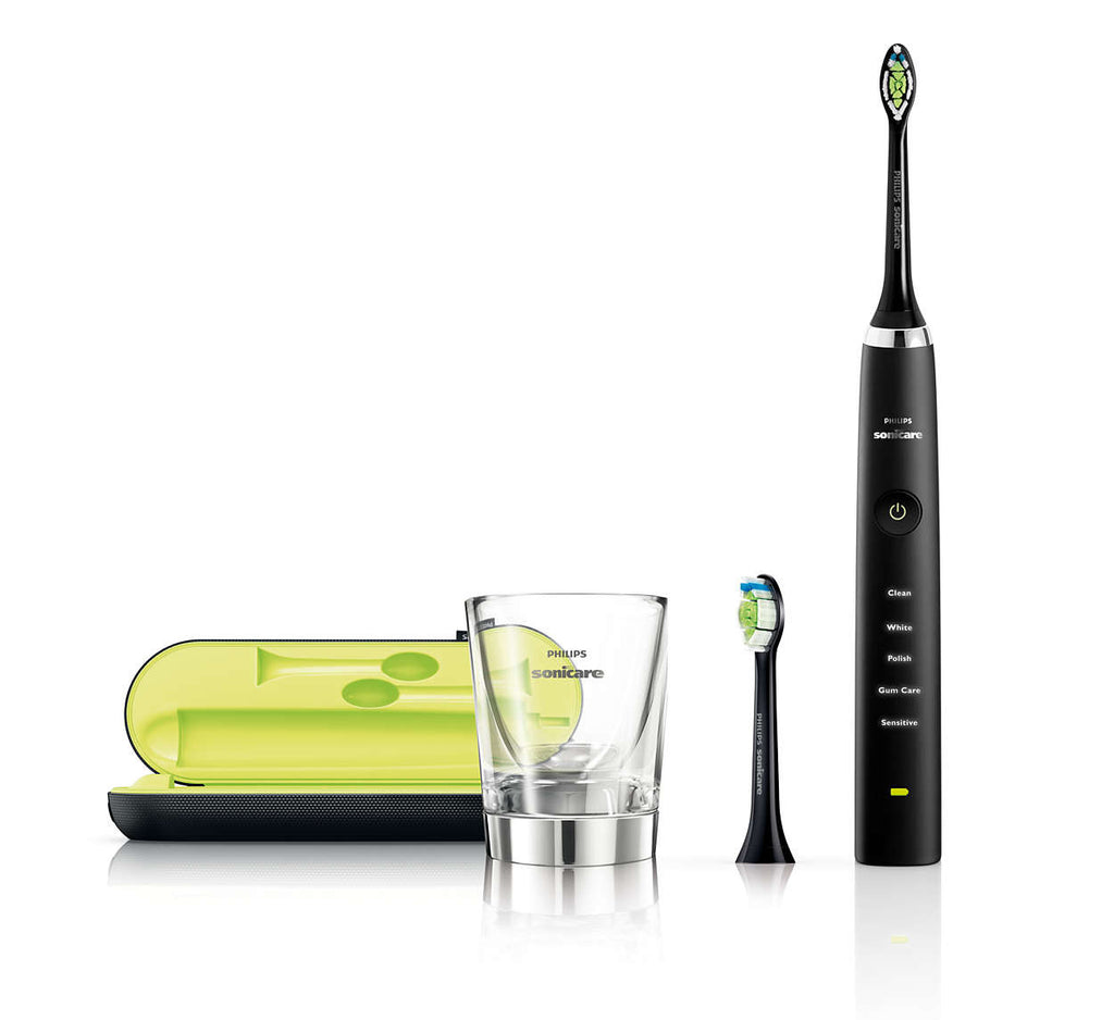 Black DiamondClean Electric Toothbrush HX9352
