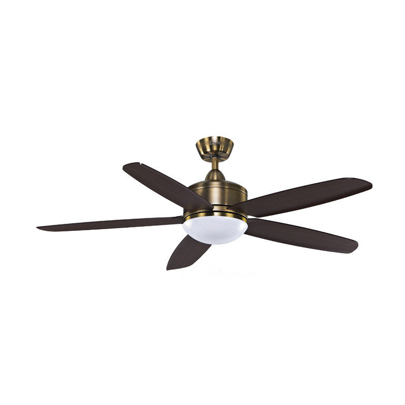 "Skylite Wooden Blade 53""/56"" Ceiling Fan + Remote Control + LED Light"