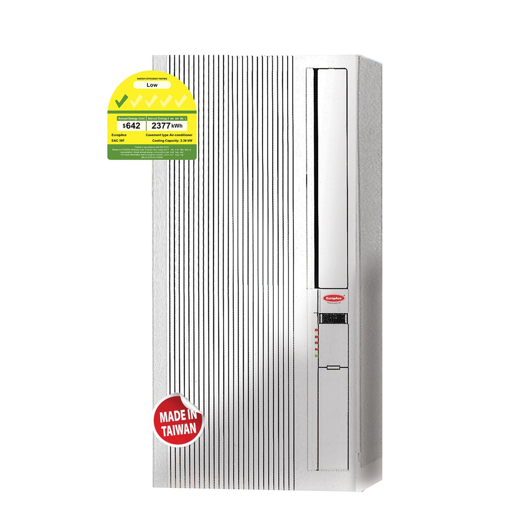 EAC397 8000 BTU 4-In-1 Casement Portable Aircon