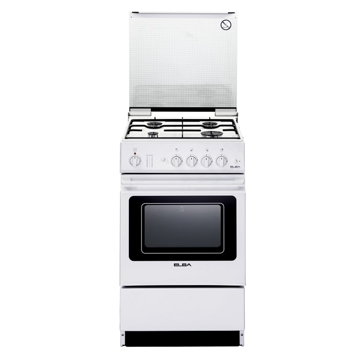 EEC566WH FREE-STANDING COOKER / 37L ELECTRIC OVEN