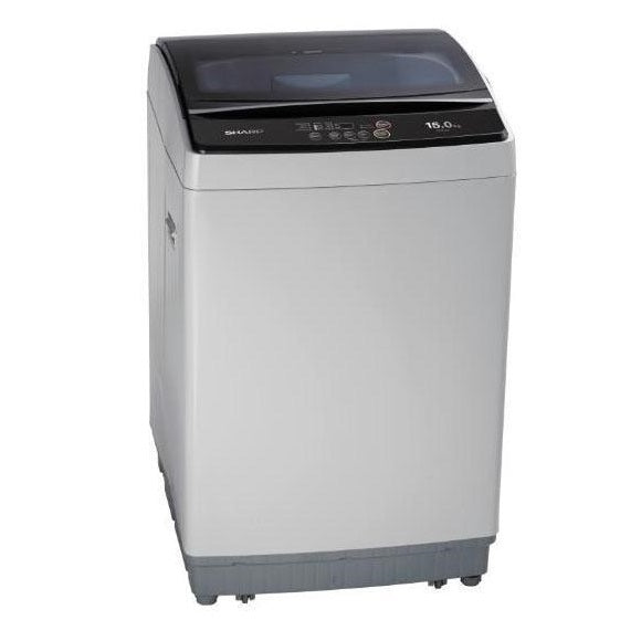 SHARP 15kg ESX156 Top Load Washer (3 Ticks)