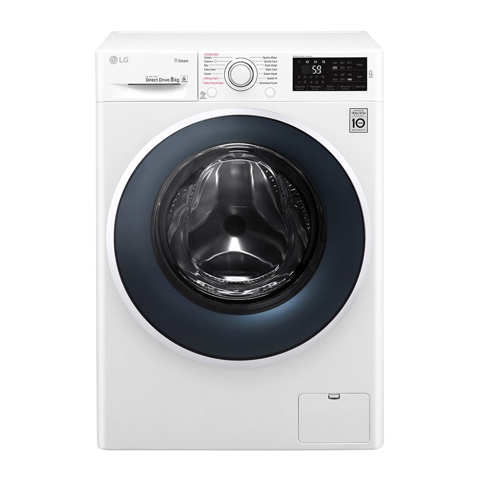 FC1408S4W 8kg Front Load Washing Machine