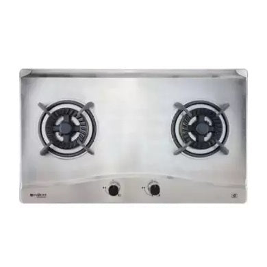 FH-GS5520 SVSS 2-BURNER STAINLESS STEEL HOB