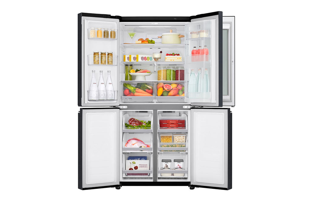 GF-Q4919MT 464L INSTAVIEW DOOR-IN-DOOR™ SMART FRENCH DOOR FRIDGE (2 TICKS)