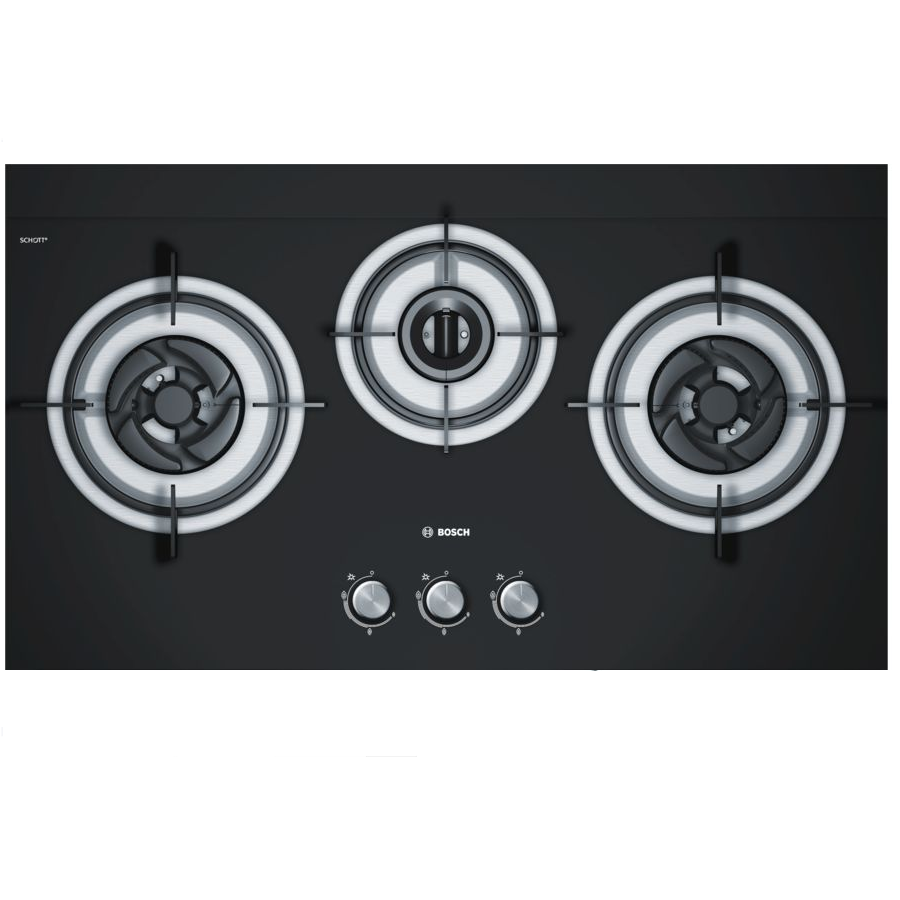 PBD7332SG 78.5cm GAS TEMPERED GLASS HOB