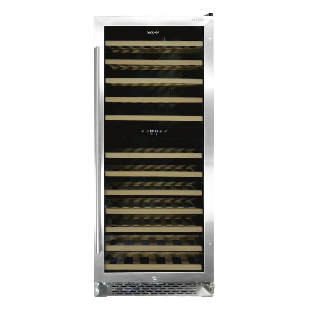 MMWC92MAG 92 BOTTLES 2-ZONE WINE CHILLER