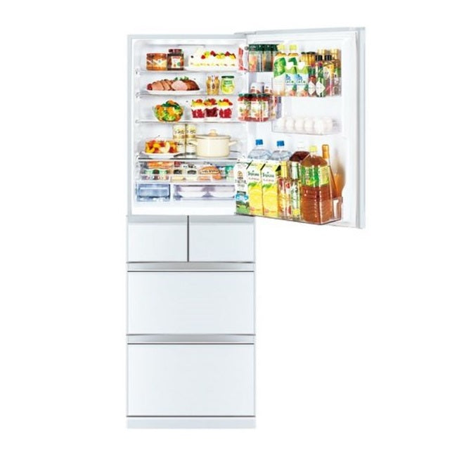MR-B46Z-W-P 485L FOLIO SERIES 5-DOOR FRIDGE FREE$100 COLD STORAGE VOUCHER
