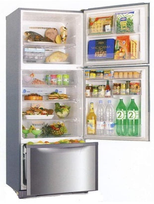 MR-V45EG 423L 3-DOOR FRIDGE