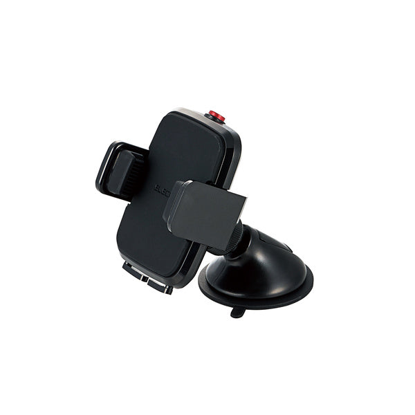 P-CARS02 IN-VEHICLE SMARTPHONE STAND (GEL SUCTION CUP) (BLACK/WHITE)