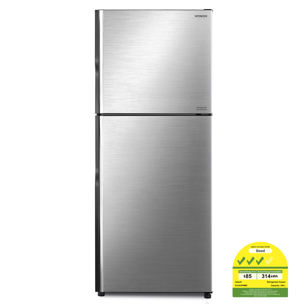 R-V410P8MS 339L INVERTER 2-DOOR FRIDGE (3 TICKS)