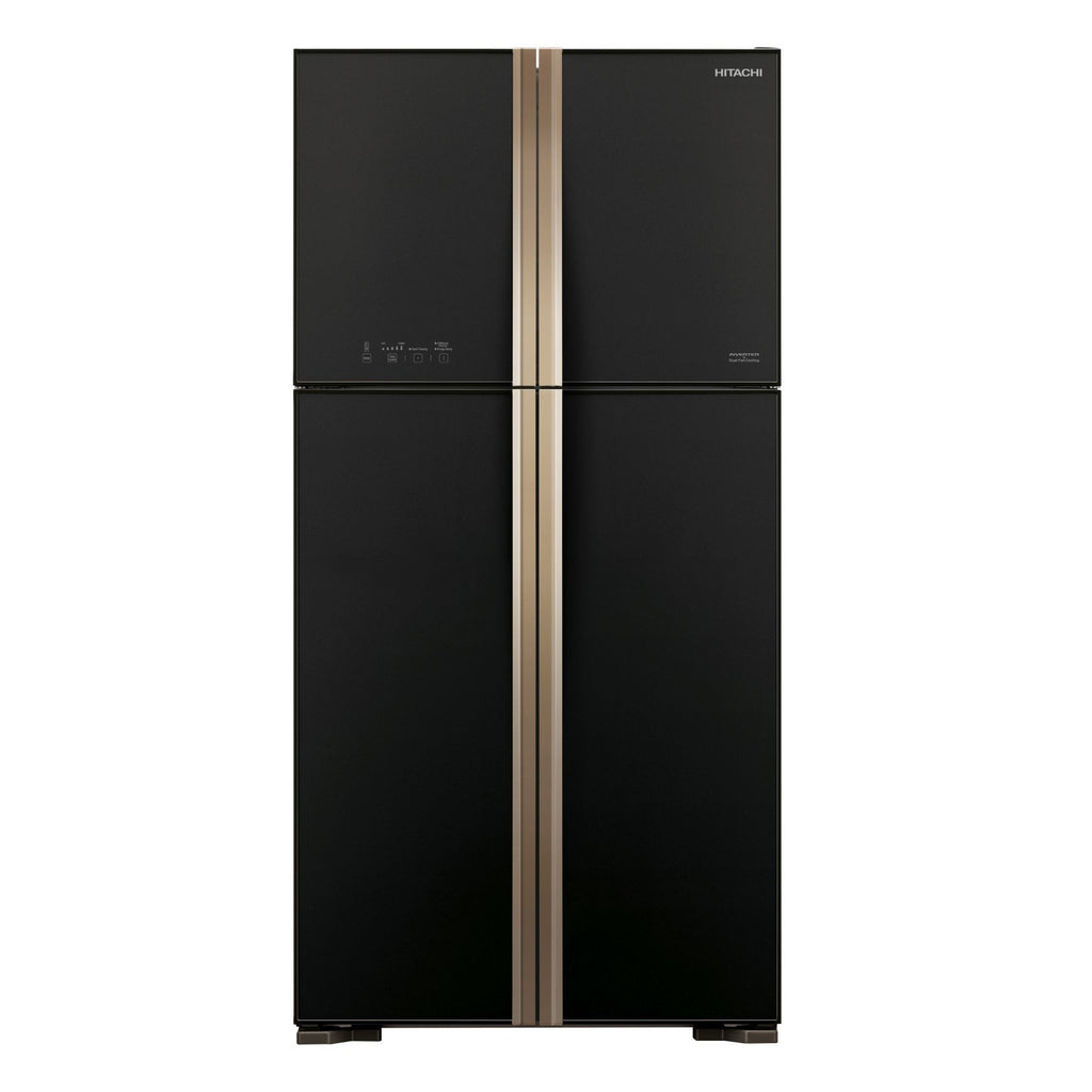 R-W635P4MS 509L SIDE-BY-SIDE DOOR FRIDGE (2 TICKS) + FREE HITACHI VACUUM CLEANER BY AGENT