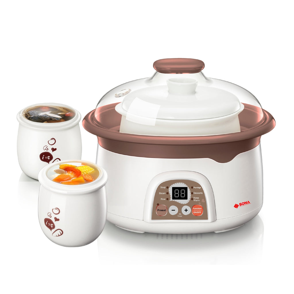 SDB1009 2.5L DOUBLE BOILER