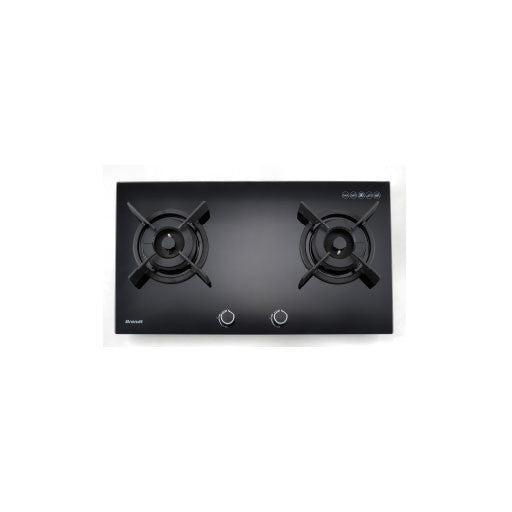 BRANDT 2-in-1 Bundle: 90cm Wall Mount Hood + 2 Burners Hob