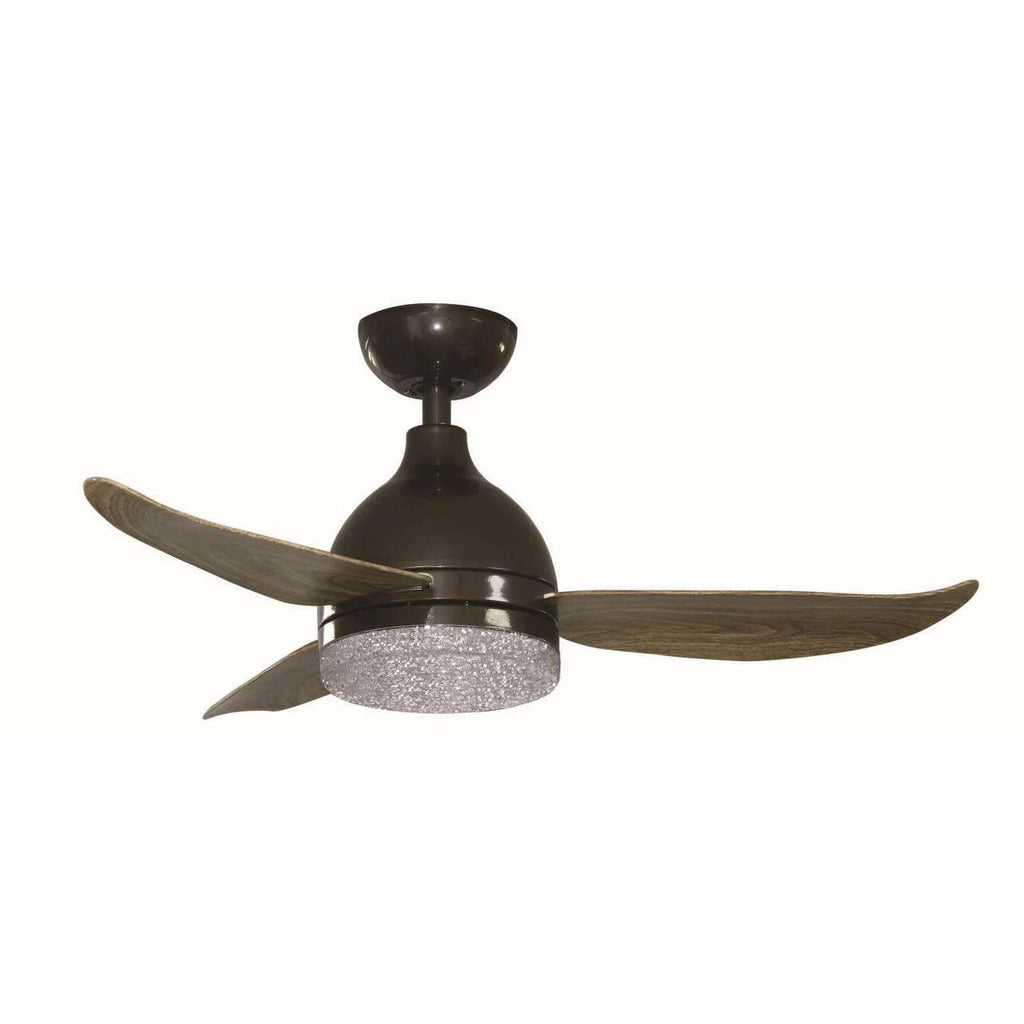 "VANE 43/48"" DC CEILING WITH REMOTE AND LIGHT"