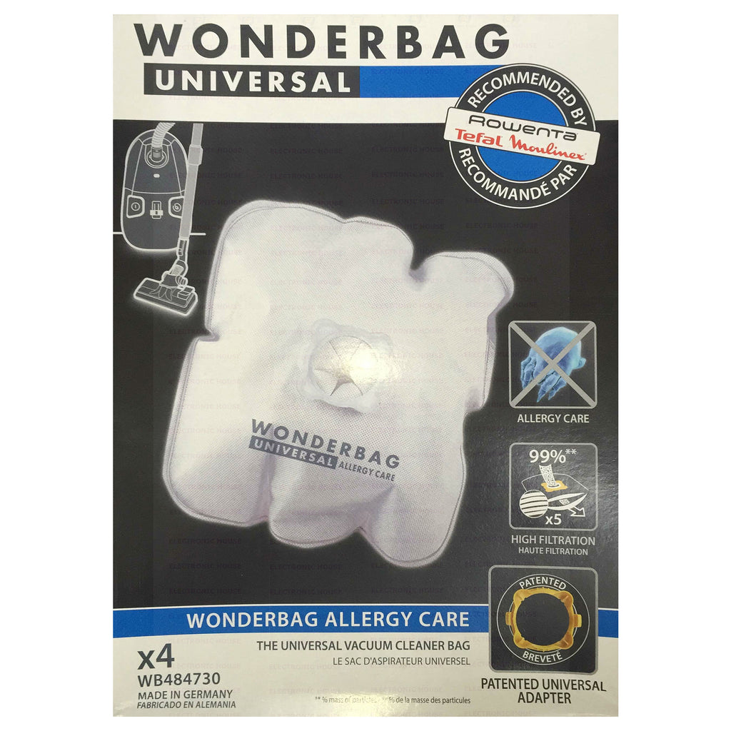 WB484730 WONDERBAG ALLERGY CARE VACUUM BAG