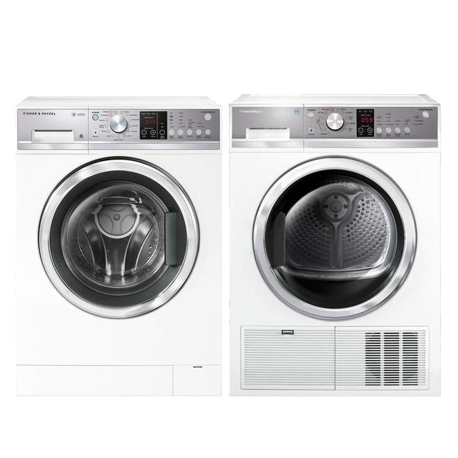 BUNDLE: 9KG WASHER WM1490F1 (3 TICKS) & 8KG CONDENSER DRYER DE8060P2 (1 TICK)