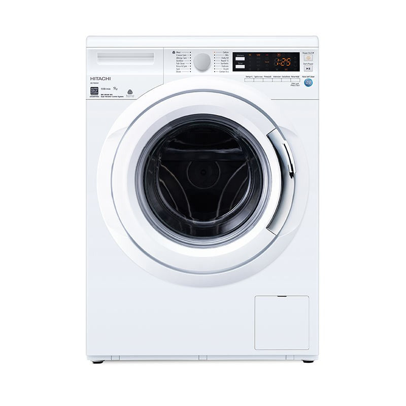 BD-W90AV 9KG FRONT LOAD WASHER + FREE HITACHI RICE COOKER BY AGENT