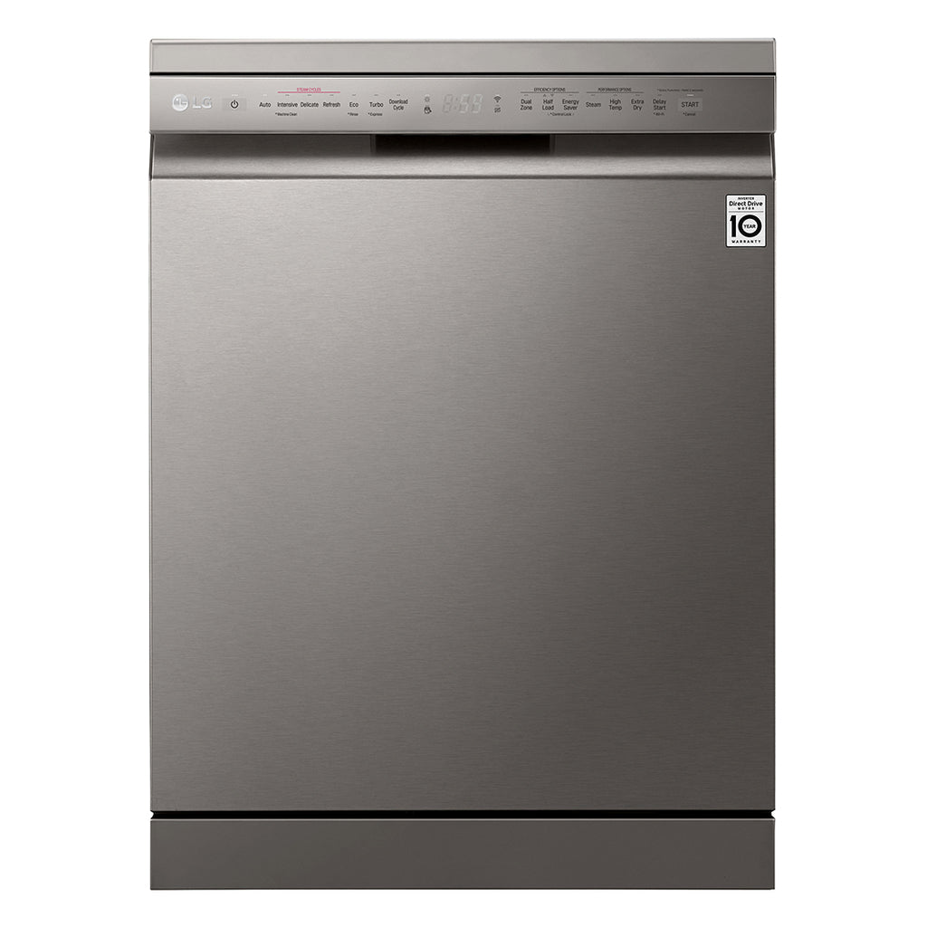 DFB425FP WIFI ENABLED BUILT-IN DISHWASHER (3 TICKS) + FREE GIFT REDEEM FROM LG