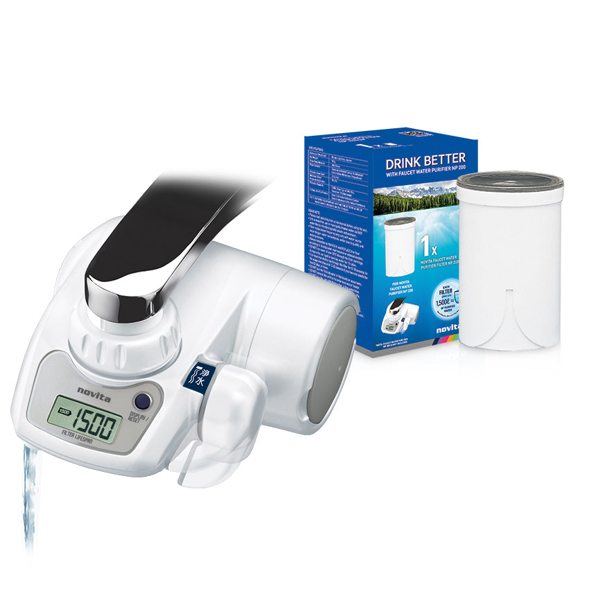 NP200 FAUCET WATER PURIFIER + FILTER (BUNDLE DEAL)