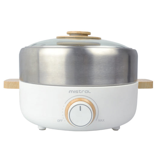 MHP3 ELECTRIC HOT POT WITH GRILL