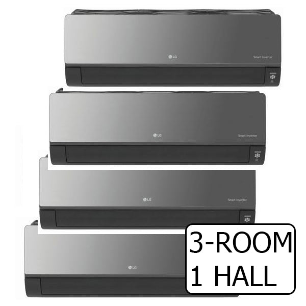 SYSTEM 4 ARTCOOL+ INVERTER MULTI-SPLIT AIRCON WITH WIFI BUILT-IN (5 TICKS)
