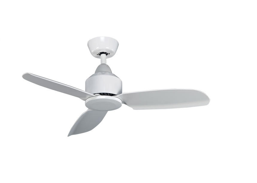 "Iris 38"" Ceiling Fan with Remote & LED Light"