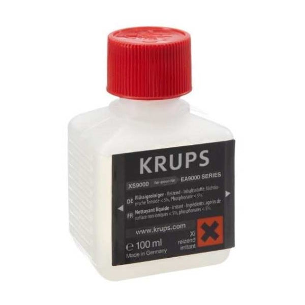 XS9000 LIQUID CLEANER FOR KRUPS FULLY AUTOMATIC ESPRESSO MACHINES