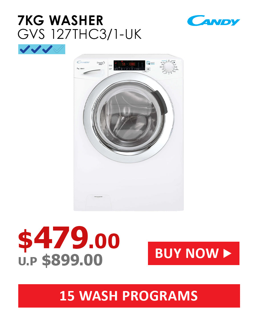 LG 8/4kg 6 Motion Front Load Direct Drive Washer Dryer