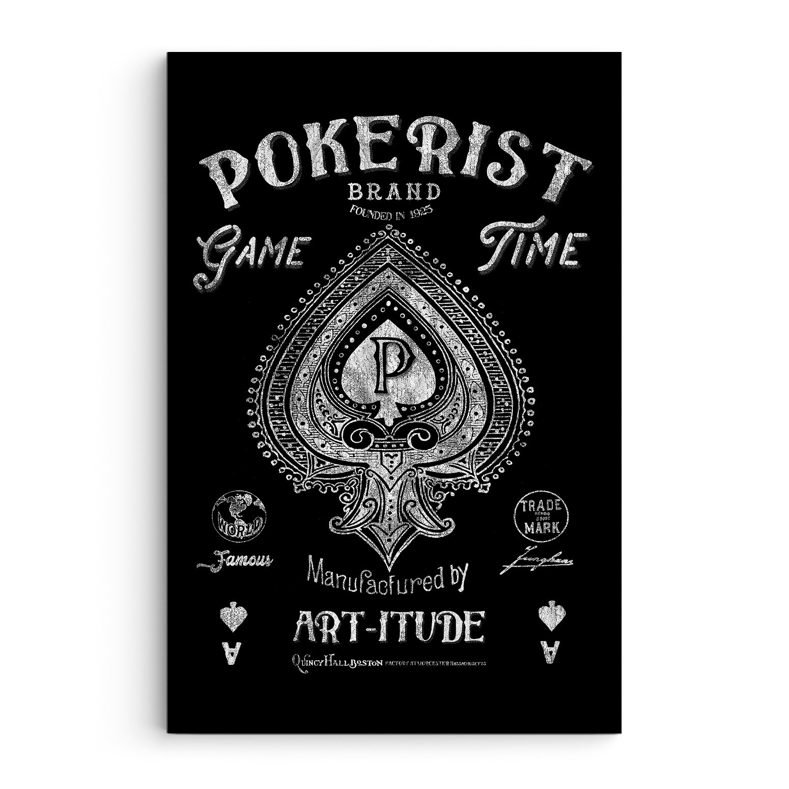 Game Time Pokerist Canvas