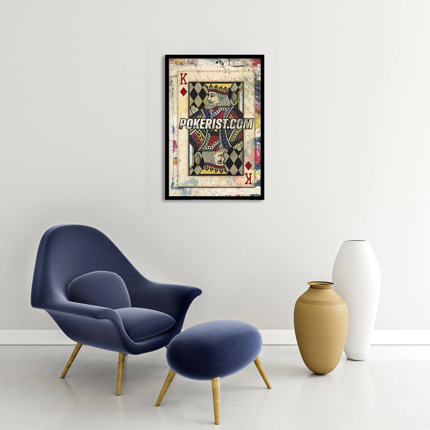 Graffiti King Framed Poster