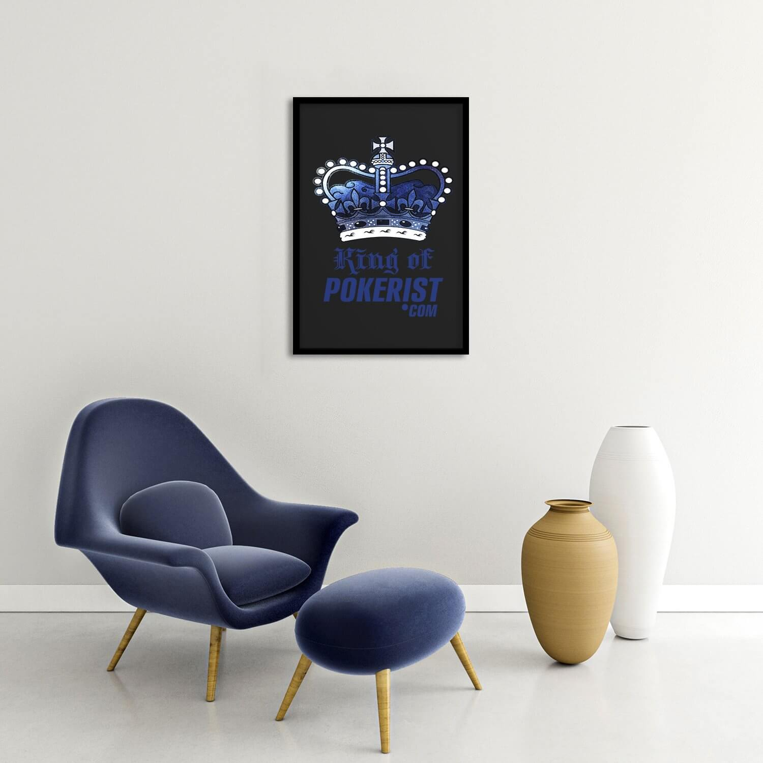 King of Pokerist Framed Poster