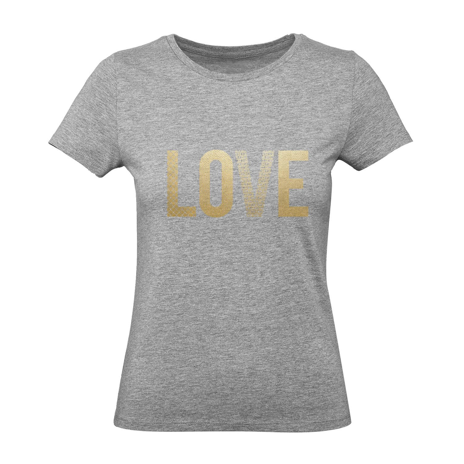 Ladies Love Gold Womens Tee