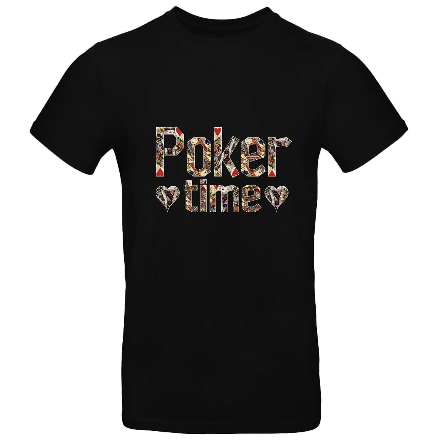Poker Time Mens Tee