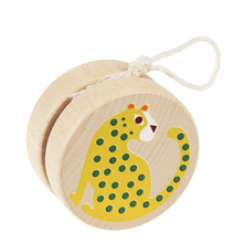 Load image into Gallery viewer, Animal Wooden Yoyo (assorted)