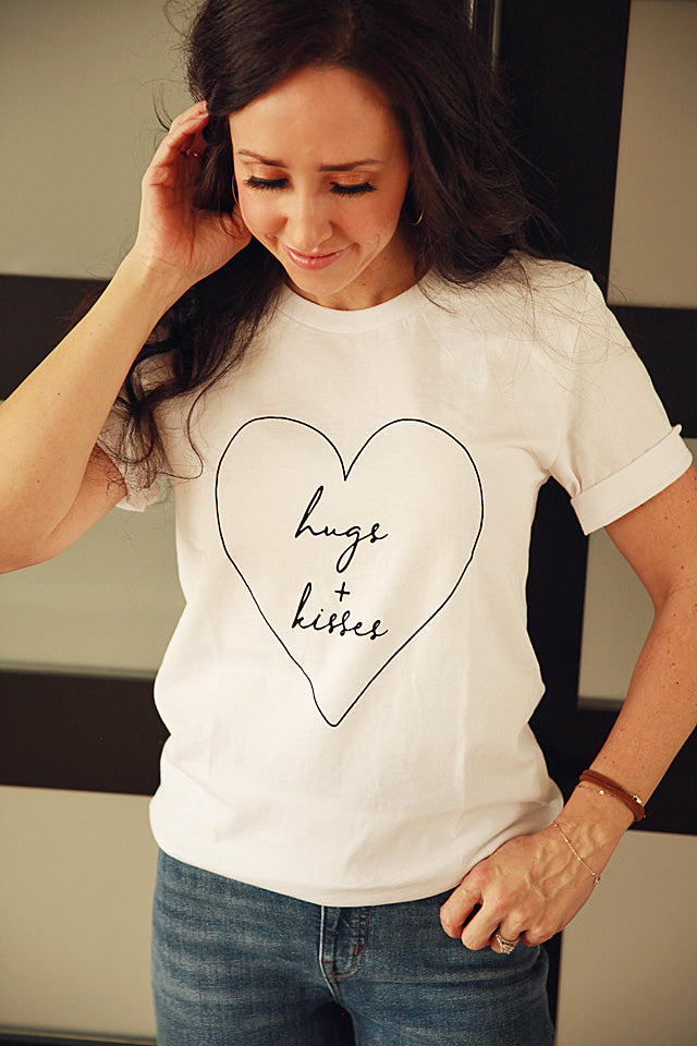 Hugs & Kisses Tee