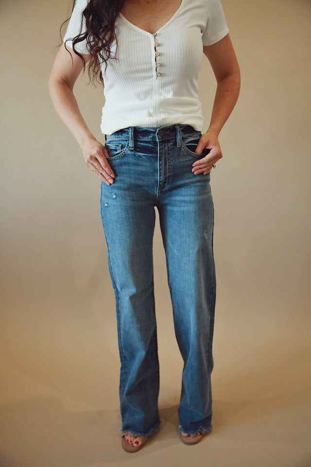 High Rise Bella Jeans