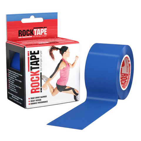Rocktape Plain Blue 5cm x 5mtr Roll